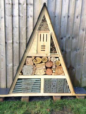 Bug house for Eco Church