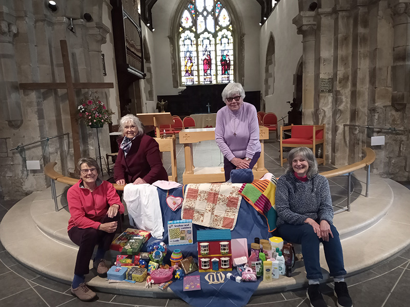 The Stretton ladies of Mother's Union